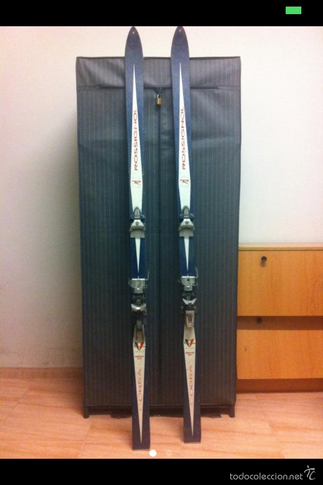 Coleccionismo deportivo: Esquís rossignol cobra - Foto 2 - 54400708