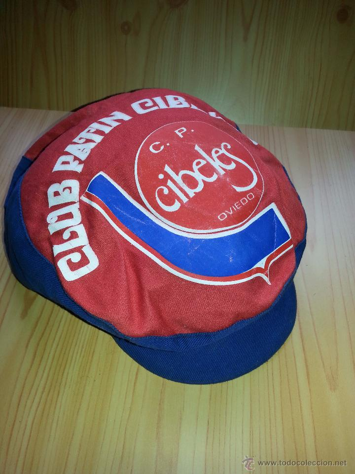 GORRA CLUB PATÍN CIBELES (Coleccionismo Deportivo - Material Deportivo - Otros deportes)