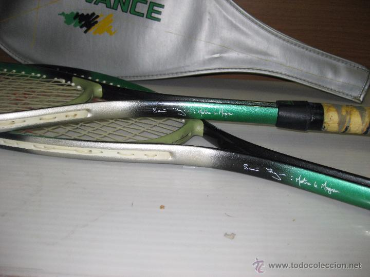 Coleccionismo deportivo: 2 RAQUETAS TENIS ADVANCE - Foto 2 - 54441493