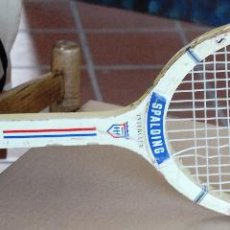 Coleccionismo deportivo - ANTIGUA RAQUETA DE TENIS EN MADERA *SPALDING-INTERCLUB* - 54510815
