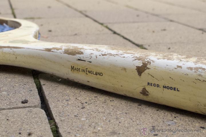 Coleccionismo deportivo: Raqueta de madera Slazenger - Foto 4 - 54598124