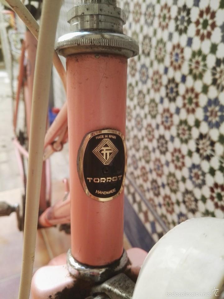 Coleccionismo deportivo: bicicleta torrot - Foto 2 - 57164166