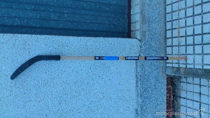 Coleccionismo deportivo: antiguo stik de hokey hielo - Foto 2 - 57394771