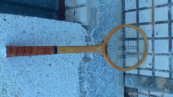 Coleccionismo deportivo: antigua raqueta tenis - Foto 2 - 57395065