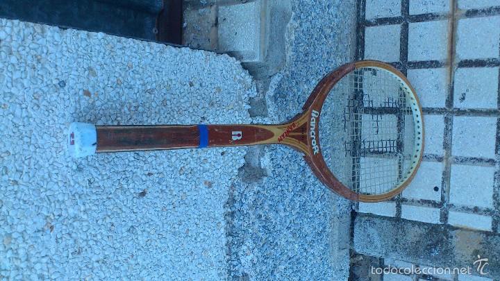 Coleccionismo deportivo: antigua raqueta tenis - Foto 2 - 57395097