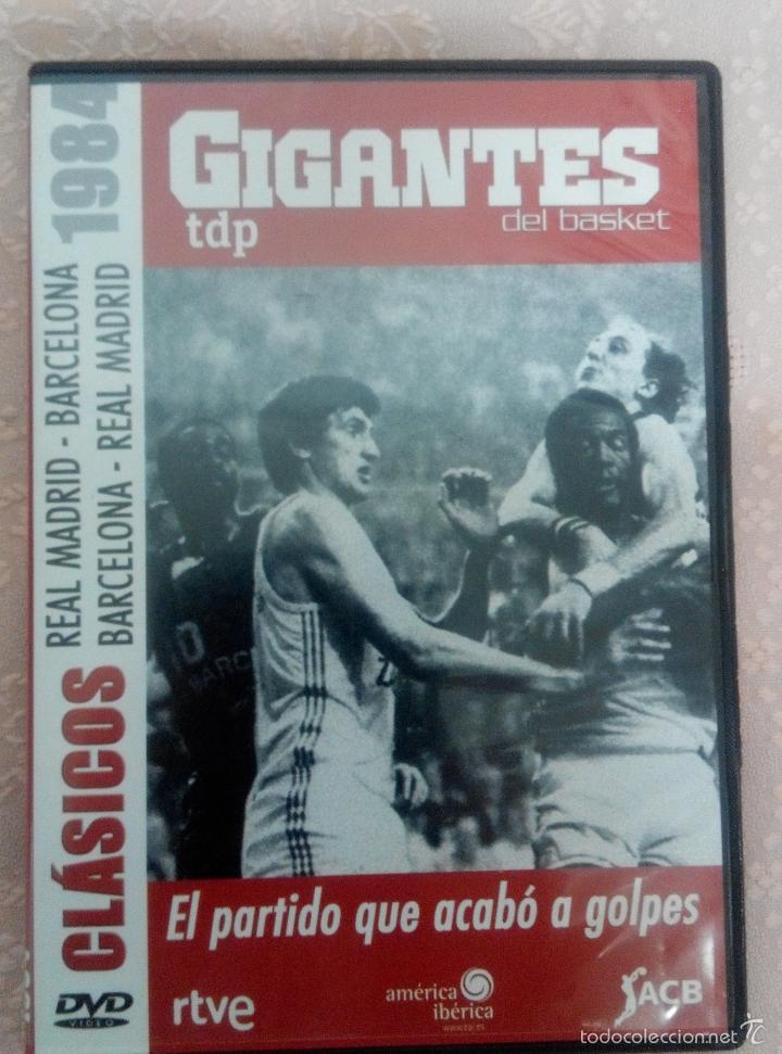 CLÁSICOS DEL BASKET - GIGANTES DEL BASKET- EL PARTIDO QUE ACABÓ A GOLPES 13/04/1984 (Coleccionismo Deportivo - Material Deportivo - Otros deportes)