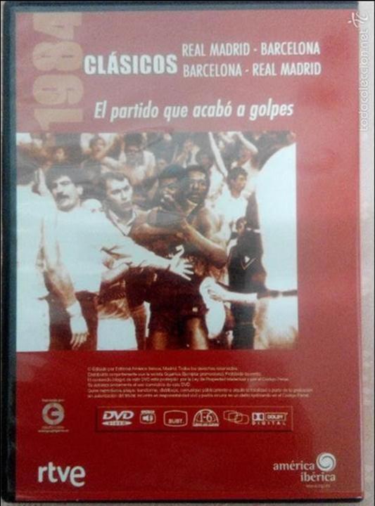 Coleccionismo deportivo: CLÁSICOS DEL BASKET - GIGANTES DEL BASKET- EL PARTIDO QUE ACABÓ A GOLPES 13/04/1984 - Foto 2 - 131407015
