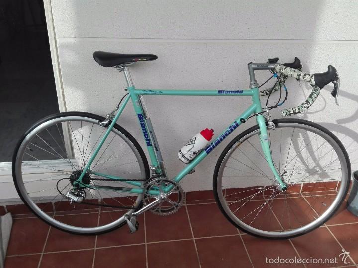 bicicleta clasica bianchi vintage años 90 - Comprar en todocoleccion ...