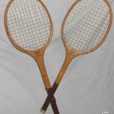 Coleccionismo deportivo: PAREJA DE RAQUETAS INFANTILES DE MANUFACTURAS IKATSUE. Lote 59654959