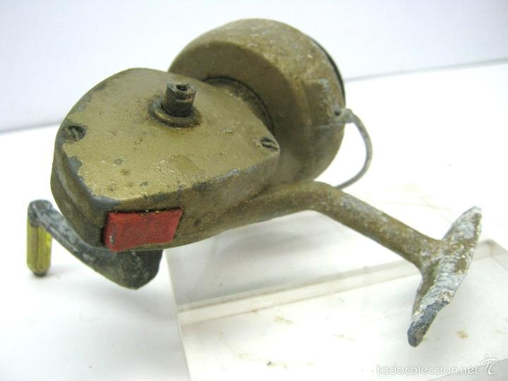 Coleccionismo deportivo: Antiguo carrete de pesca para caña de pescar - Foto 2 - 59924127