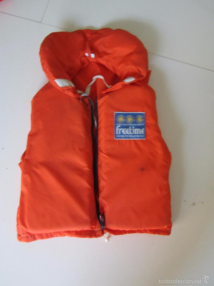 Coleccionismo deportivo: 4 chalecos salvavidas - Foto 3 - 60037259