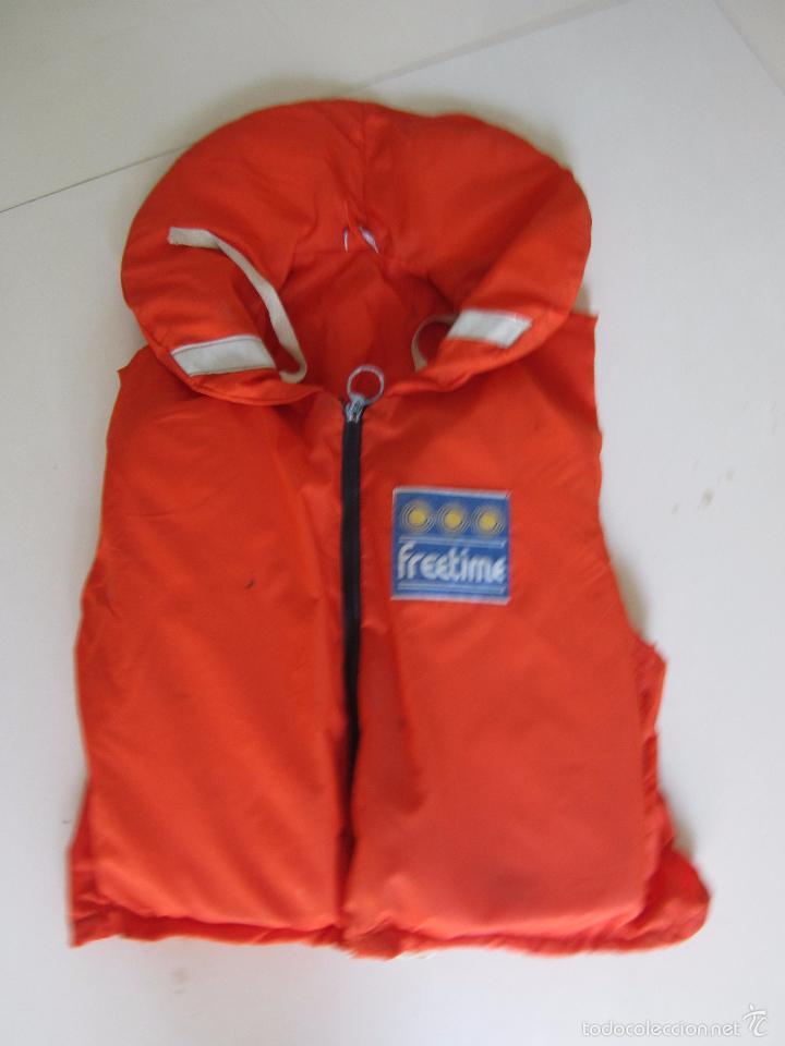Coleccionismo deportivo: 4 chalecos salvavidas - Foto 4 - 60037259