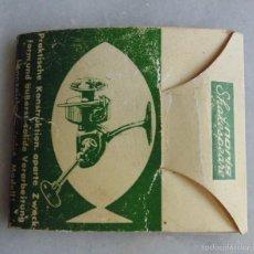 Coleccionismo deportivo: PAQUETE DE 10 ANZUELOS PARA NORIS SHAKESPEARE (AÑOS 60 O 70), EUROPA-KLASSE. PARA CARRETE. PESCA. Lote 171656557