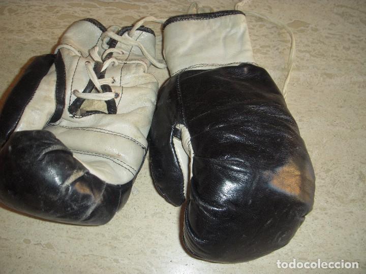Coleccionismo deportivo: guantes antiguos de boxeo - Foto 5 - 61427411