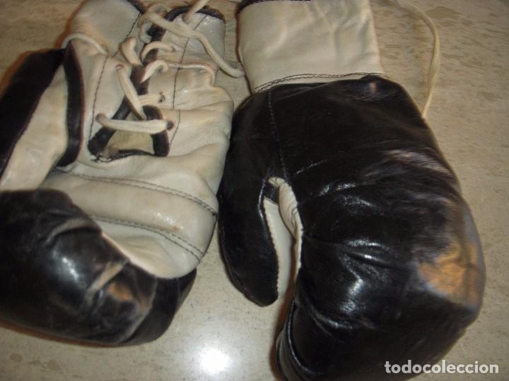 Coleccionismo deportivo: guantes antiguos de boxeo - Foto 6 - 61427411