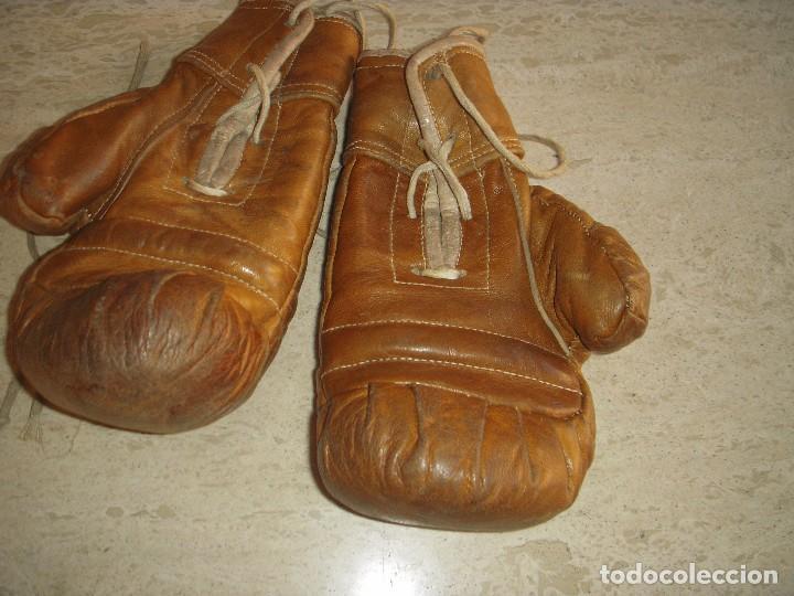 Coleccionismo deportivo: antiguos guantes de boxeo - Foto 2 - 61427967
