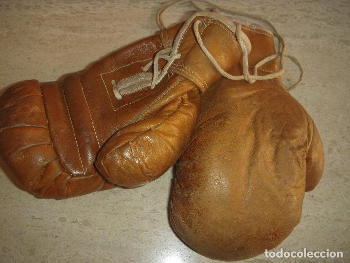 Coleccionismo deportivo: antiguos guantes de boxeo - Foto 4 - 61427967