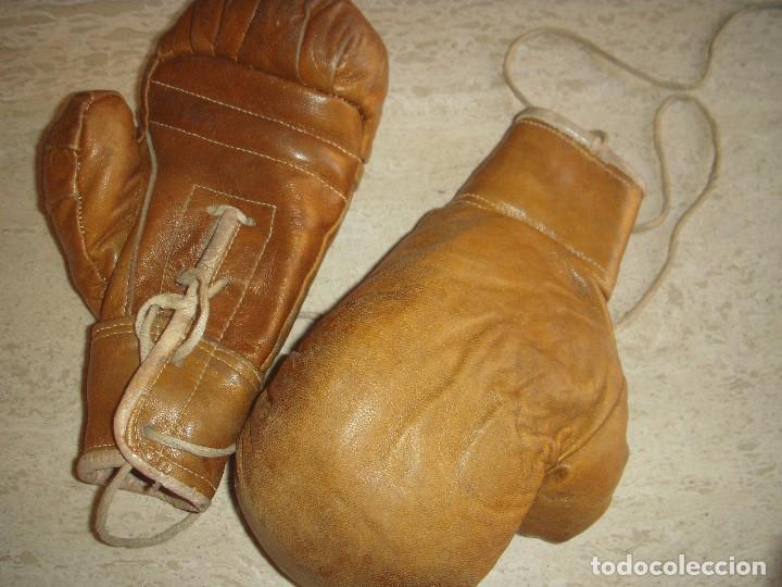 Coleccionismo deportivo: antiguos guantes de boxeo - Foto 7 - 61427967