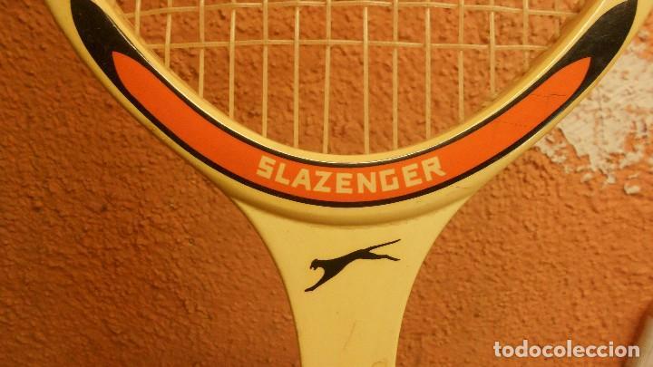 Coleccionismo deportivo: raqueta de tenis marca slazenger - Foto 2 - 62729700