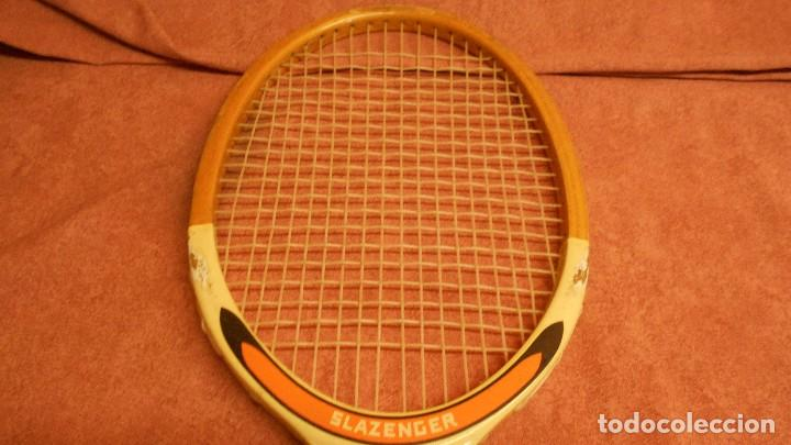 Coleccionismo deportivo: raqueta de tenis marca slazenger - Foto 3 - 62729700