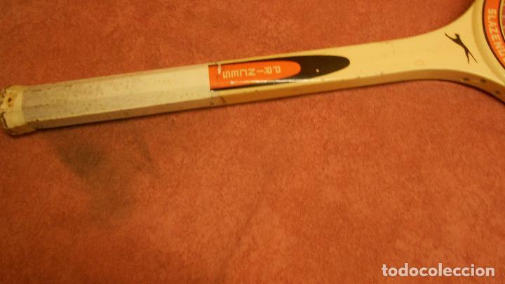 Coleccionismo deportivo: raqueta de tenis marca slazenger - Foto 5 - 62729700