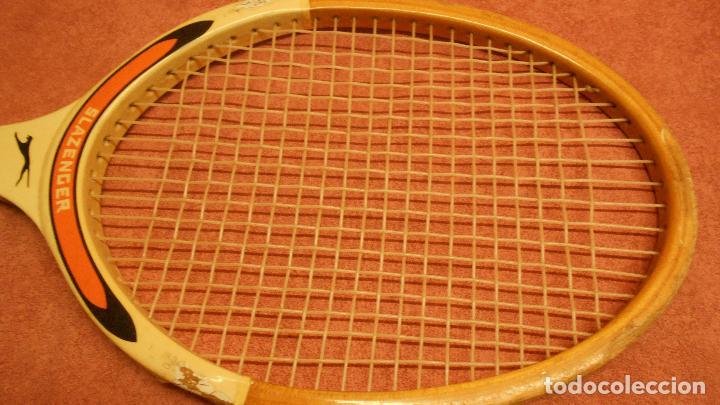 Coleccionismo deportivo: raqueta de tenis marca slazenger - Foto 7 - 62729700