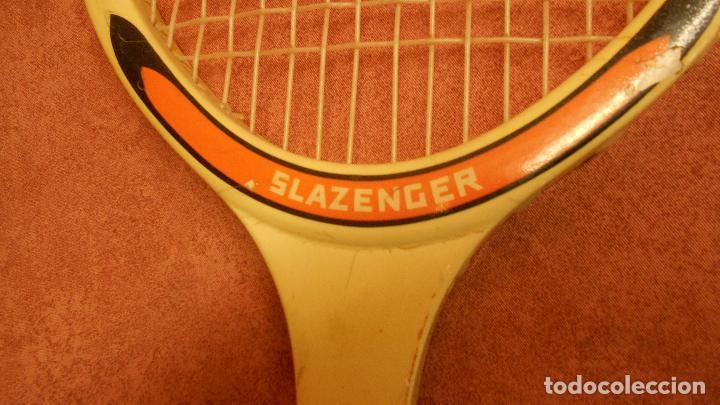 Coleccionismo deportivo: raqueta de tenis marca slazenger - Foto 8 - 62729700