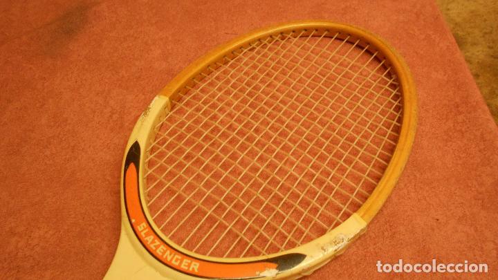 Coleccionismo deportivo: raqueta de tenis marca slazenger - Foto 9 - 62729700