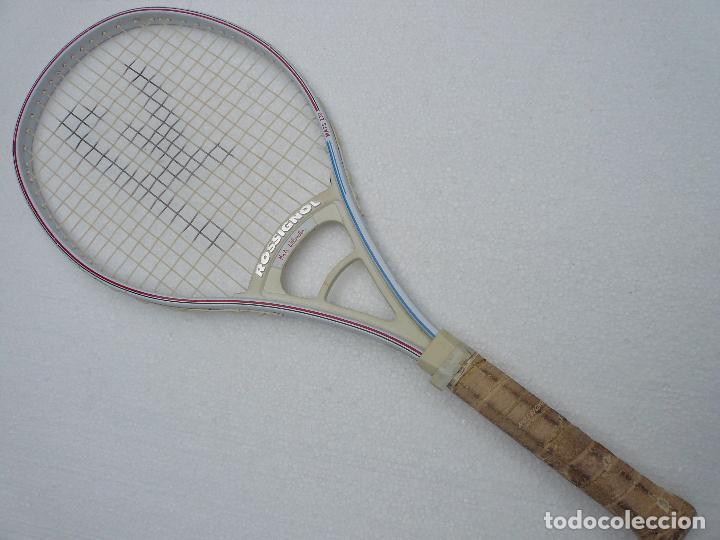Coleccionismo deportivo: RAQUETA TENIS ROSSIGNOL MATS WILANDER - MATS 230 - JUNIOR - Foto 2 - 65737386