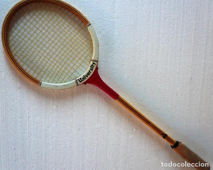 Coleccionismo deportivo: RAQUETA UNIVERSITY SPORTALI - Foto 2 - 65739298