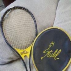 Coleccionismo deportivo: RAQUETA STULD A. GIMENO CON FUNDA. Lote 67032846