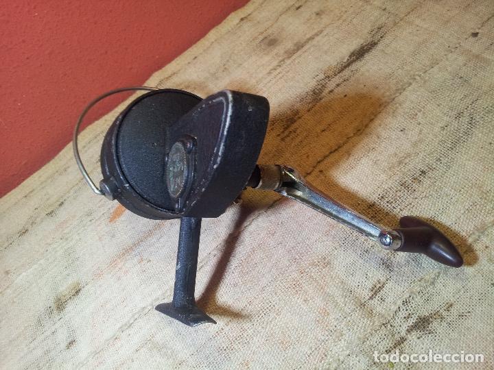 Coleccionismo deportivo: antiguo carrete aleman años 60-70 DAM QUICK 550--GRANDE !! - Foto 9 - 107447440