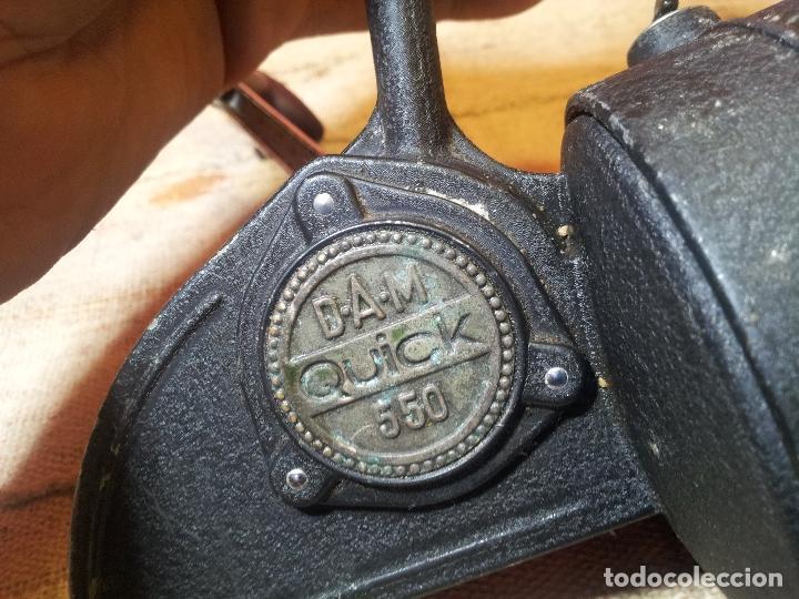 Coleccionismo deportivo: antiguo carrete aleman años 60-70 DAM QUICK 550--GRANDE !! - Foto 12 - 107447440
