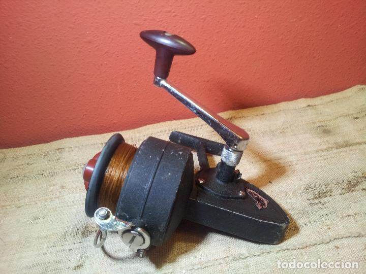 Coleccionismo deportivo: antiguo carrete aleman años 60-70 DAM QUICK 550--GRANDE !! - Foto 16 - 107447440