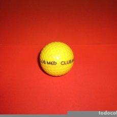 Coleccionismo deportivo: PELOTA DE GOLF - CLUB MED.. Lote 69021053