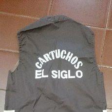 Coleccionismo deportivo: CHALECO,CARTUCHOS EL SIGLO,CAZADOR. Lote 70529205