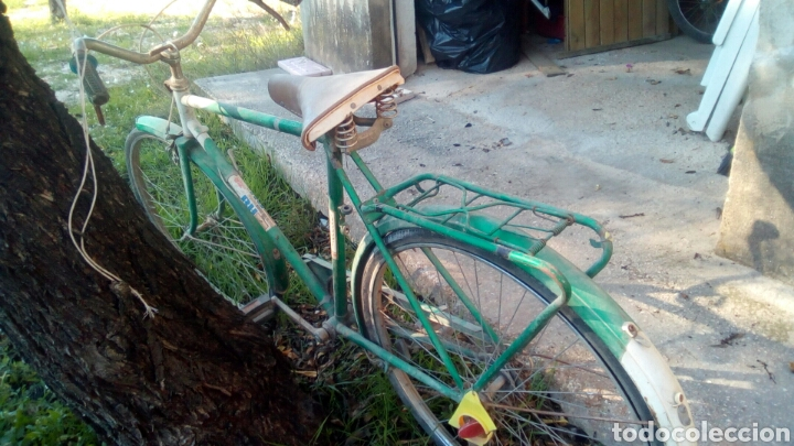 Coleccionismo deportivo: Bicicleta BH completa pero para restaurar. - Foto 4 - 72381631