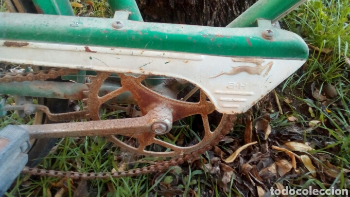 Coleccionismo deportivo: Bicicleta BH completa pero para restaurar. - Foto 5 - 72381631