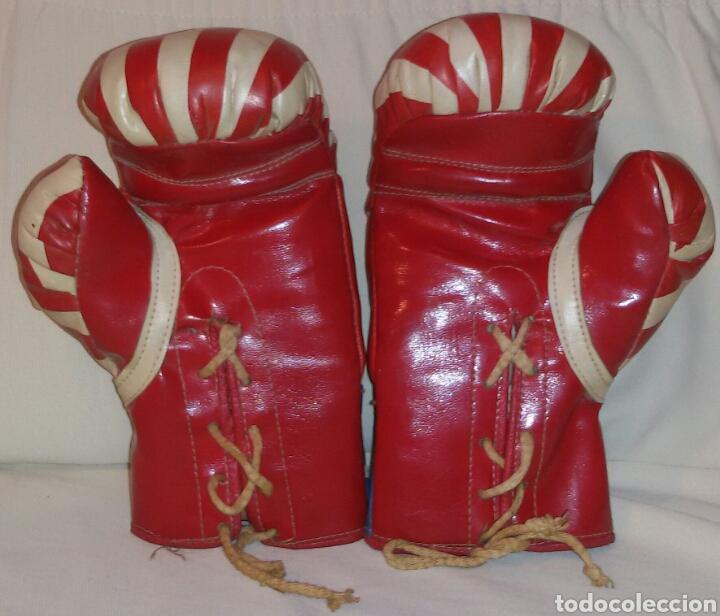 Coleccionismo deportivo: Antiguos Guantes Boxeo . - Foto 4 - 73701825