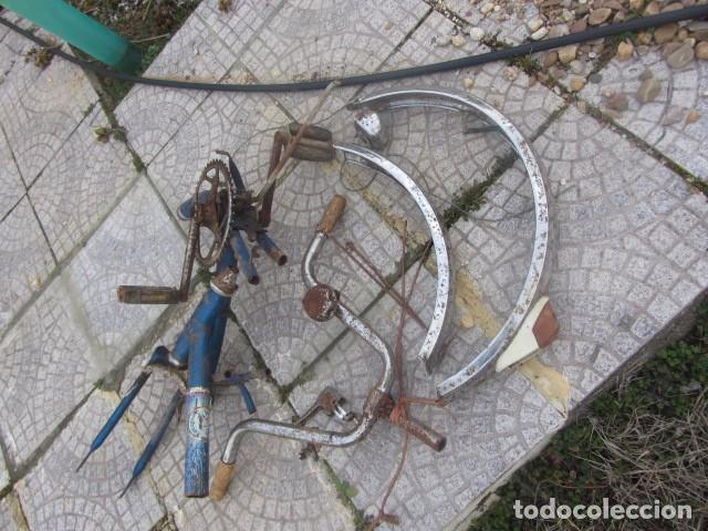 Coleccionismo deportivo: Desguace o despiece de antigua bicicleta BH. Lo que se ve en la foto - Foto 2 - 74905163