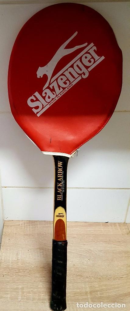 Coleccionismo deportivo: antigua raqueta tenis - Foto 2 - 76008107