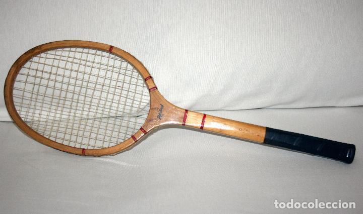 Coleccionismo deportivo: ANTIGUA RAQUETA DE TENIS AÑO 70 - 80 - Foto 7 - 111332506