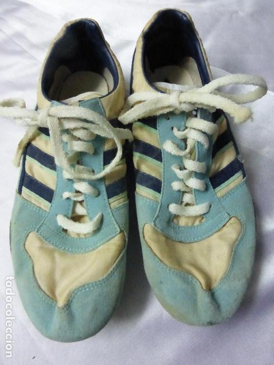 Retro De 100Originales Vintage Antigua Star Atletismo Adidas 70 Difíciles Años Muy Tech Zapatillas shorCtQBdx