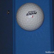 Coleccionismo deportivo: PELOTA DE GOLF DUNLOP DDH 4 , DISTANCE 110* , MUY BUEN ESTADO. Lote 78929669
