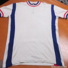 Coleccionismo deportivo: ANTIGUO MAILLOT CICLISTA, AÑOS 80, FLOWER, MADE IN SPAIN. Lote 79338425