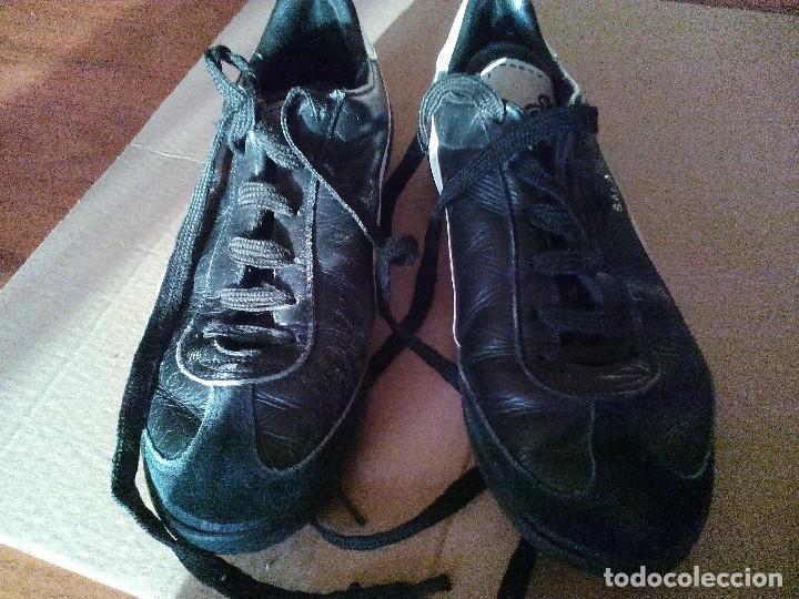 Coleccionismo deportivo: Botas Futbol Sala - Fulbito - Yelos Sala STAR de finales de los 80 - Foto 5 - 79786101