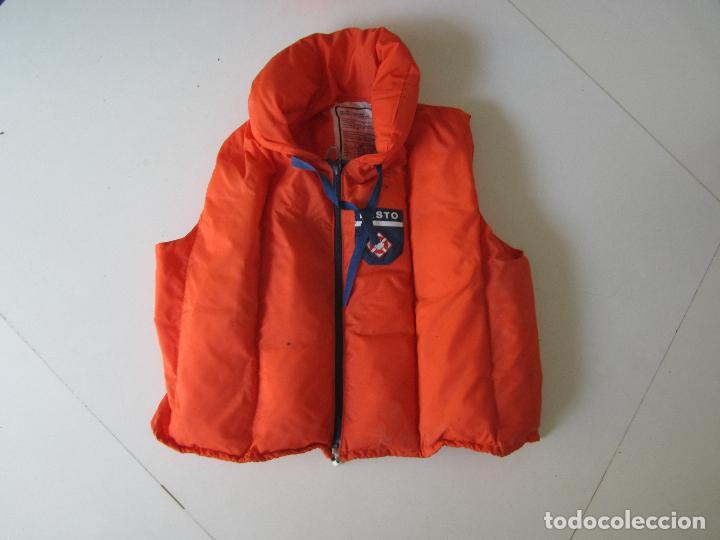 Coleccionismo deportivo: 4 chalecos salvavidas - Foto 4 - 80843027