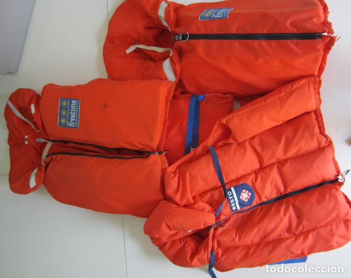 Coleccionismo deportivo: 4 chalecos salvavidas - Foto 5 - 80843027