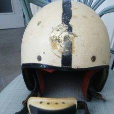 Coleccionismo deportivo: CASCO ANTIGUO RFME. Lote 83117295