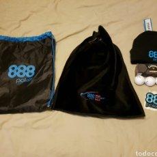 Coleccionismo deportivo: LOTE 888 POKER, 2 GORROS Y MÁS. Lote 85587947
